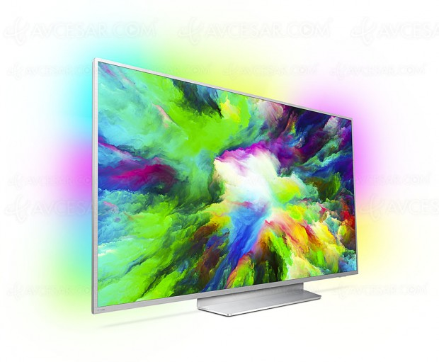 Philips PUS7803, 49''/55''/65''/75'', Ambilight 3, P5 et Natural Motion