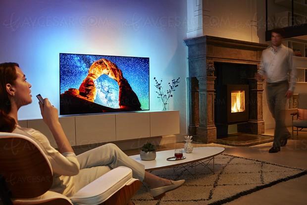 TV Oled Philips OLED803 Ultra HD Premium, 55''/65'' annoncés