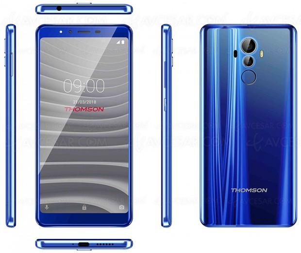 Thomson TH101/TH201/TH701, nouvelle gamme smartphones 5'' et 5,9 pouces