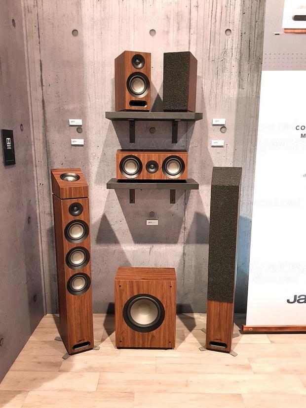 Enceintes Jamo Studio 8 Series Home Cinéma, mise à jour finition noyer
