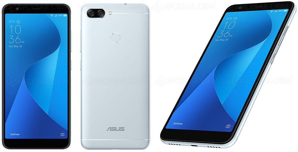 Smartphone Asus Zenfone Max Plus ZB570TL Ecran 18 9 Et Grosse