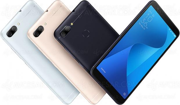 Smartphone Asus Zenfone Max Plus (ZB570TL), écran 18/9 et grosse autonomie