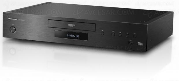 Panasonic DP‑UB9000, platine Ultra HD Blu‑Ray THX, HCX, HDR Dolby Vision et HDR10+
