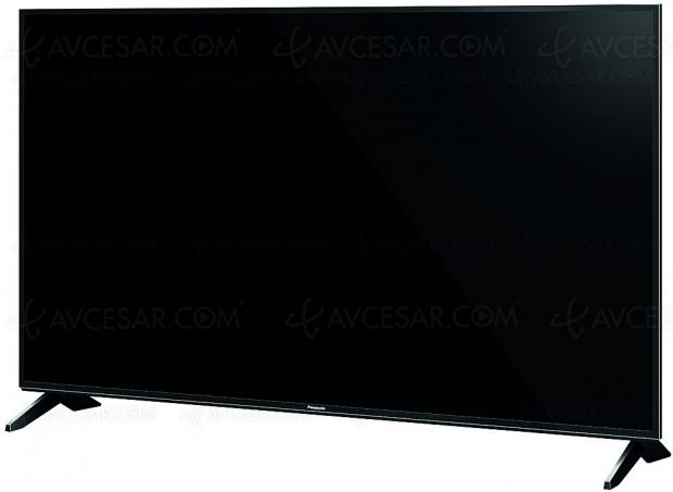 TV LED Ultra HD Panasonic FX600, 43''/49''/55'' et 65'' annoncés