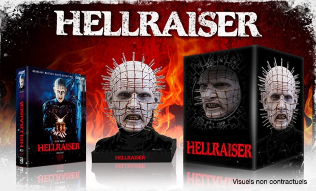 Hellraiser, trilogie Blu-Ray Collector enfin officielle, en version non censurée