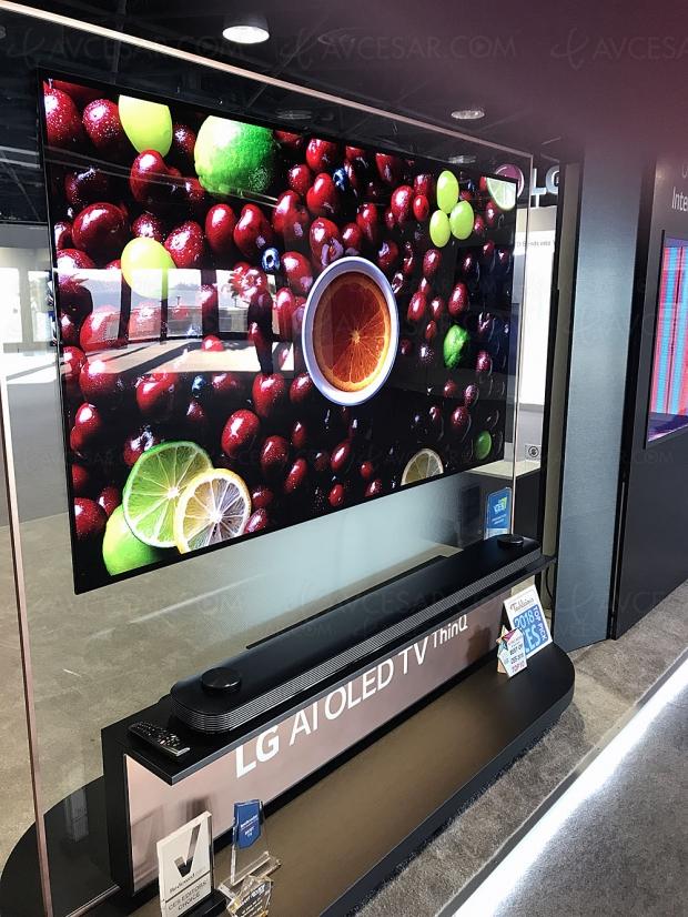 Ventes TV Oled en Corée, LG passe la barre des 14 000 unités en janvier