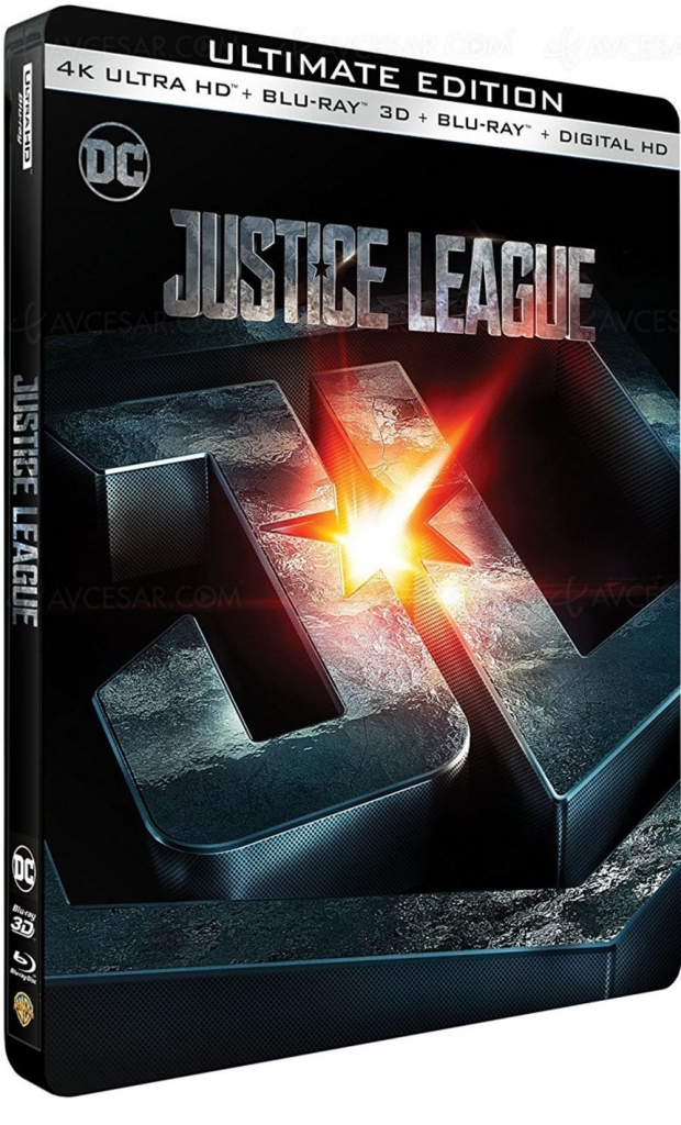 Justice League 4K Ultra HD Blu-Ray… in the Army Now