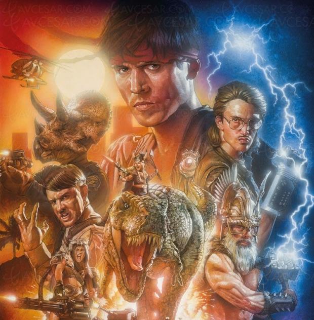 Michael Fassbender dans Kung Fury ! Aventure complètement dingue !