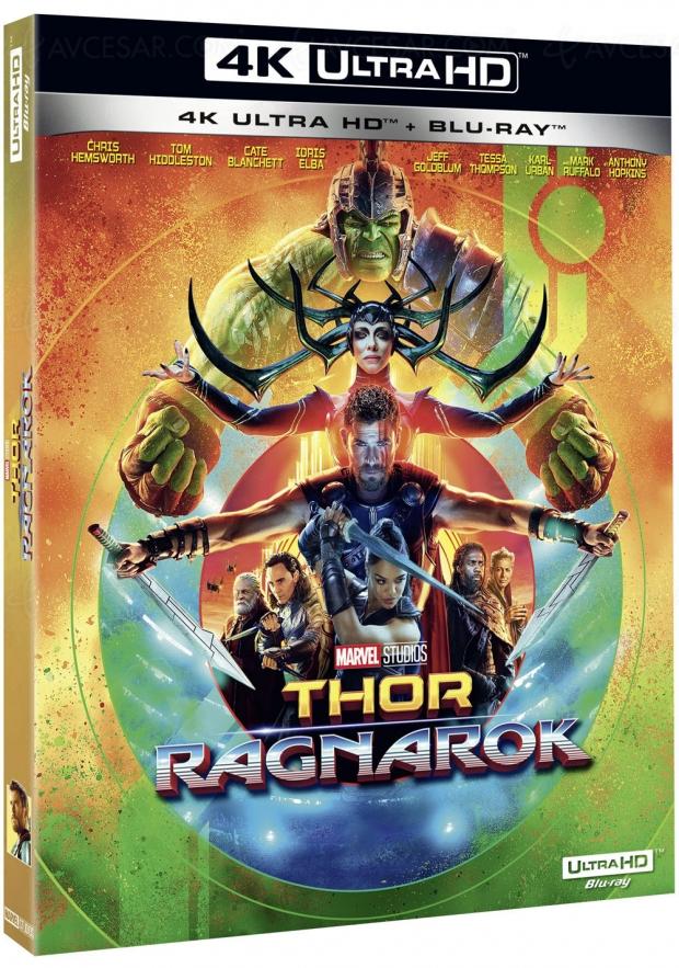 Thor Ragnarok le 9 mars, détail de l'édition 4K Ultra HD Blu‑Ray