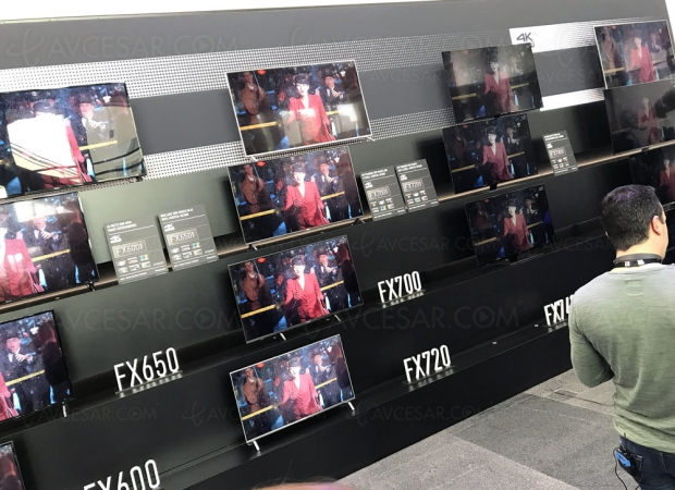 TV LED Ultra HD Panasonic FX740, mise à jour prix indicatifs et spécifications