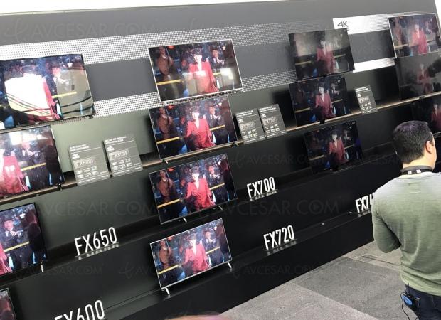 TV LED Ultra HD Panasonic FX700, mise à jour prix indicatifs et spécifications