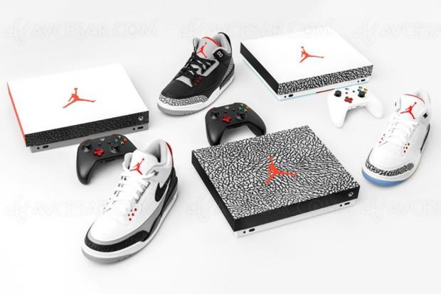 Gagnez des Xbox One X… avec les chaussures Air Jordan Free Throw Line, Black Cement et Tinker !