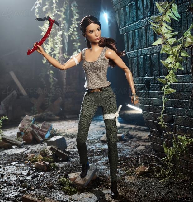 Poupée Barbie… Lara Croft !