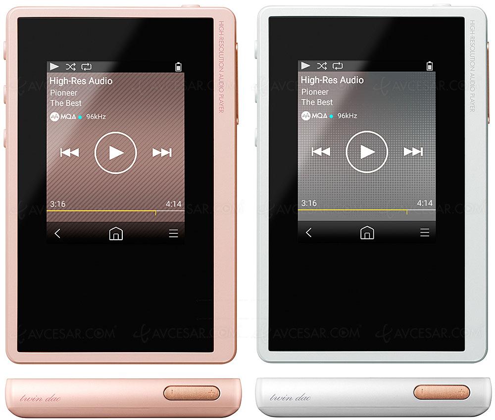 Pioneer Xdp 02u Nouveau Lecteur Portable Hi Res Audio Haute Performance