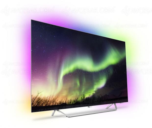 TV Oled Philips 65OLED873 Ultra HD Premium, mise à jour prix indicatif et disponibilité