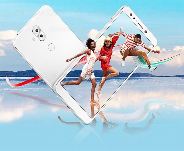 Asus ZenFone 5 Lite (ZC600KL), quadruple capteur photo, écran 6'' et  format 18/9