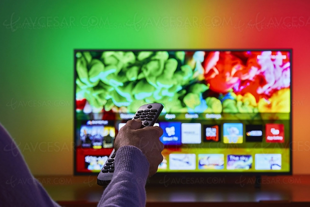 TV LED Ultra HD Philips PUS6703, 43''/50''/55''/65'' et Ambilight 3