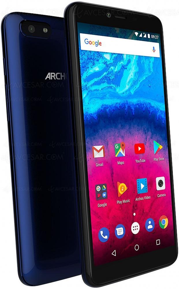 Archos Core 57S, smartphone 5,7'', 18/9, spécifications essentielles et tarif agressif
