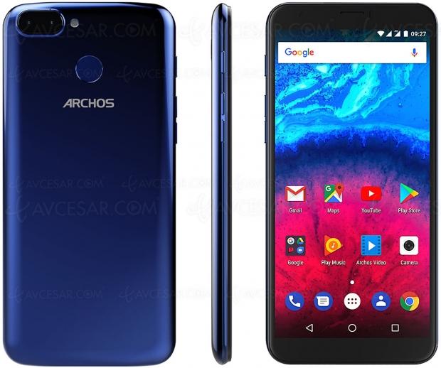 Archos Core 60S, smartphone 6'', 18/9, spécifications essentielles et tarif agressif