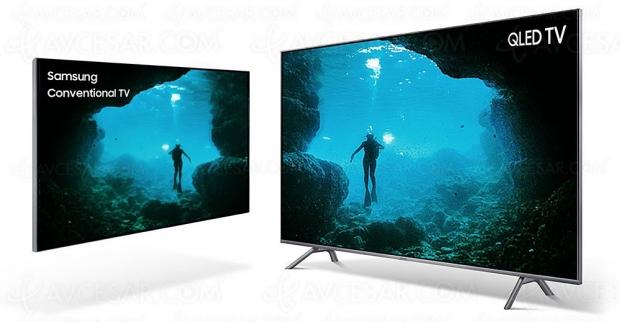 TV LED Ultra HD Samsung Q6FN 2018, 49