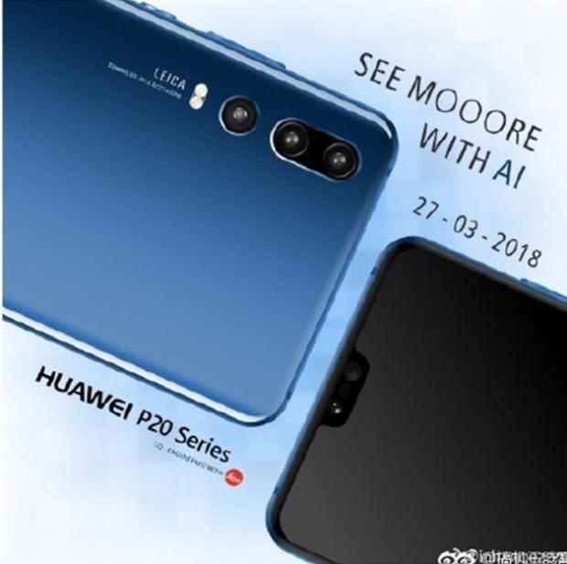 Dernières rumeurs Huawei P20, triple capteur confirmé ?