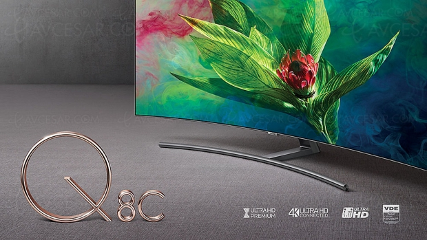 TV LED Ultra HD Samsung Q8CN 2018, 55