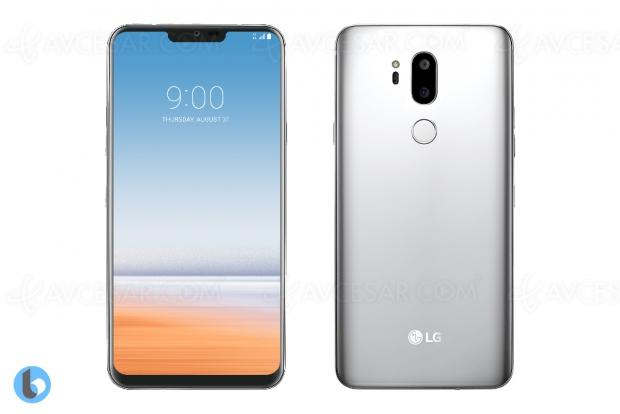 Smartphone LG G7 Neo (nom de code « Judy ») en images