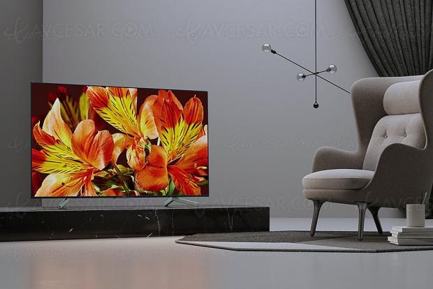 TV LED Ultra HD Sony XF8505, mise à jour prix indicatifs