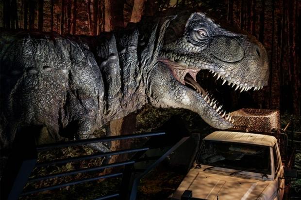 Le plein de dinos à l'expo Jurassic World de la Cité du Cinéma