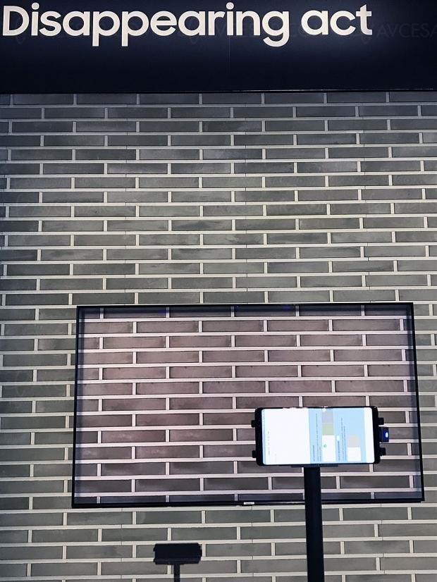 TV QLED Samsung 2018 invisibles : Ambient Mode ou le TV caméléon