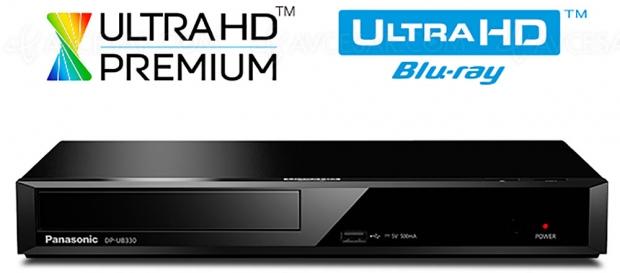 Platine Ultra HD Blu‑Ray Panasonic DP‑UB320/UB330, mise à jour prix indicatif