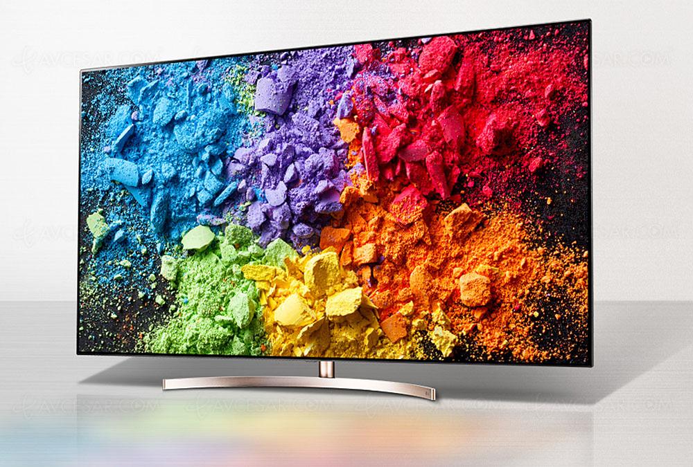 tv led nano cell ultra hd lg sk9500 full led 55 et 65 annonc s. Black Bedroom Furniture Sets. Home Design Ideas