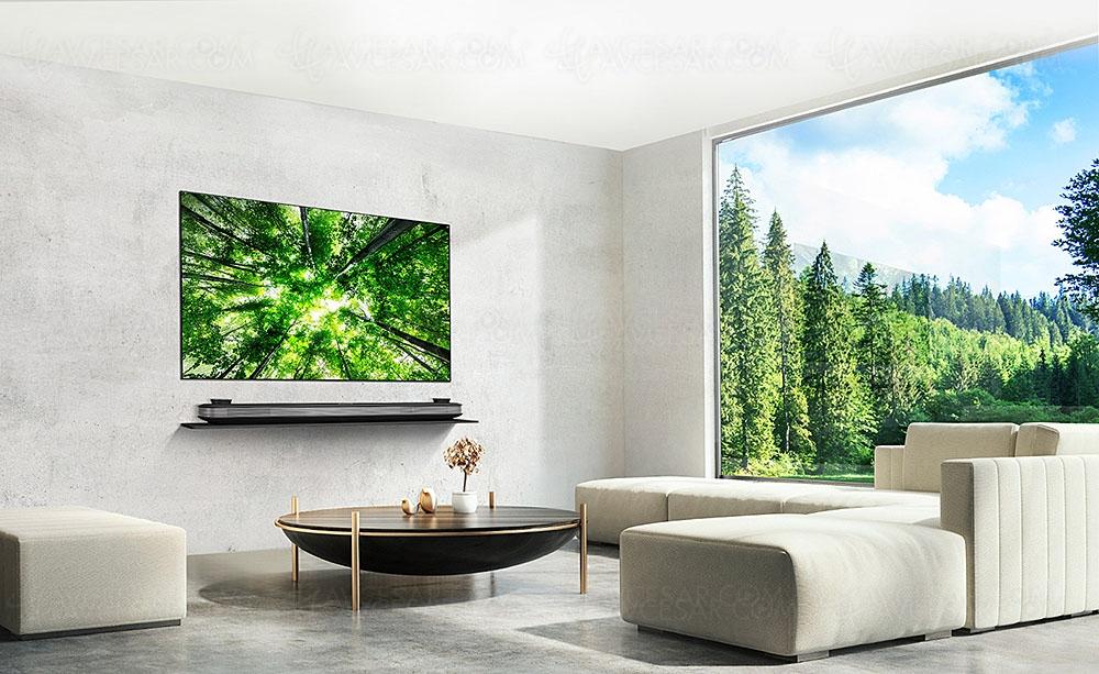 tv oled ultra hd lg w8 mise jour prix indicatifs. Black Bedroom Furniture Sets. Home Design Ideas