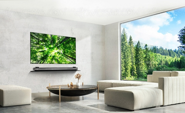 TV Oled Ultra HD LG W8, mise à jour prix indicatifs