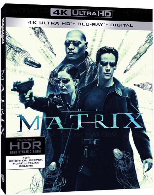 Entrez dans la Matrix 4K Ultra HD Blu-Ray
