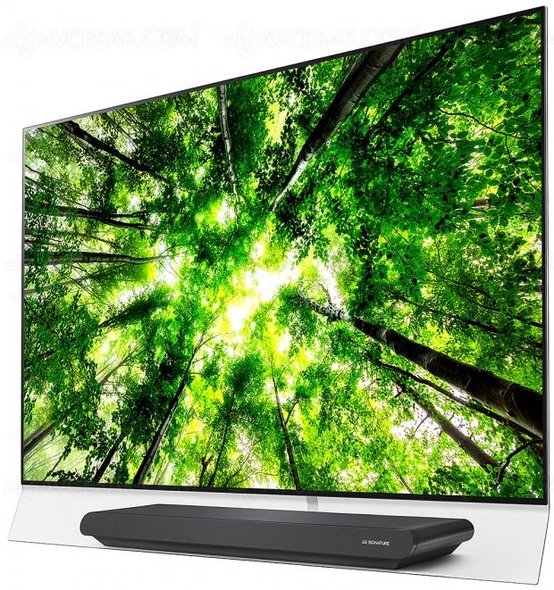 TV Oled LG G8 Ultra HD Premium, unique 65'' annoncé