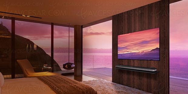 TV Oled LG W8 Ultra HD Premium, mise à jour spécifications des modèles 65'' et 77''