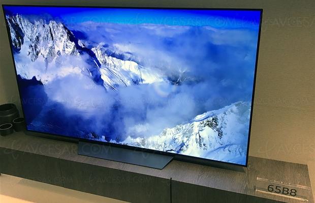TV Oled LG B8, mise à jour disponibilité