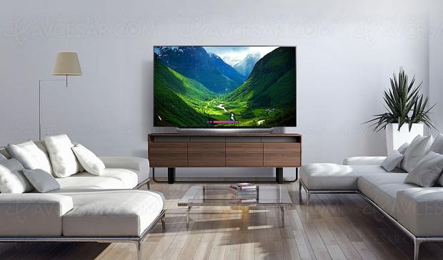 TV Oled Ultra HD LG C8, mise à jour spécifications