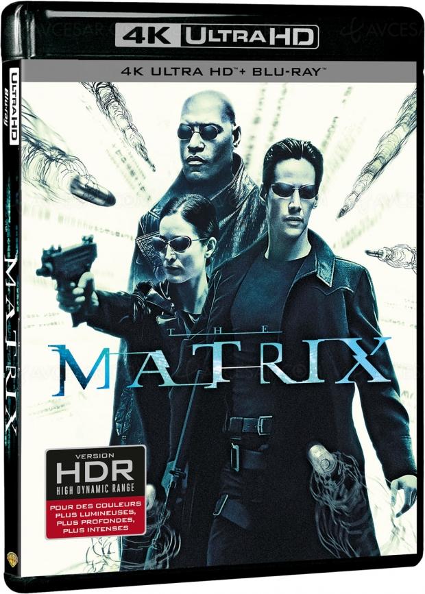 Matrix 4K Ultra HD Blu‑Ray, le visuel français
