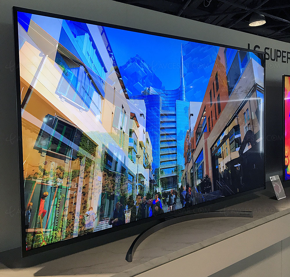 TV LED Nano Cell Ultra HD LG SK8100, 49'', 55