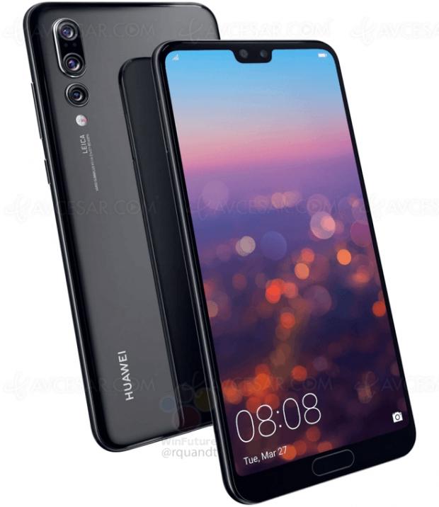 Détails sur le triple capteur du futur smartphone Huawei P20 Pro