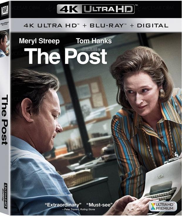 Pentagon Papers 4K Ultra HD : Steven Spielberg, Meryl Streep, Tom Hanks au cœur du scandale