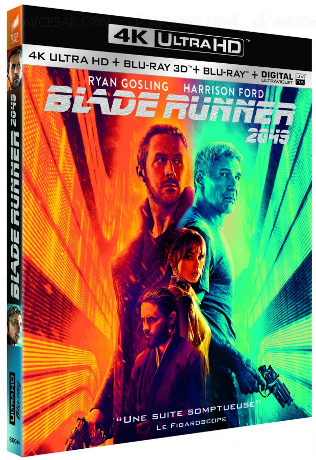 Concours 4K Ultra HD Blu-Ray Blade Runner 2049 à gagner