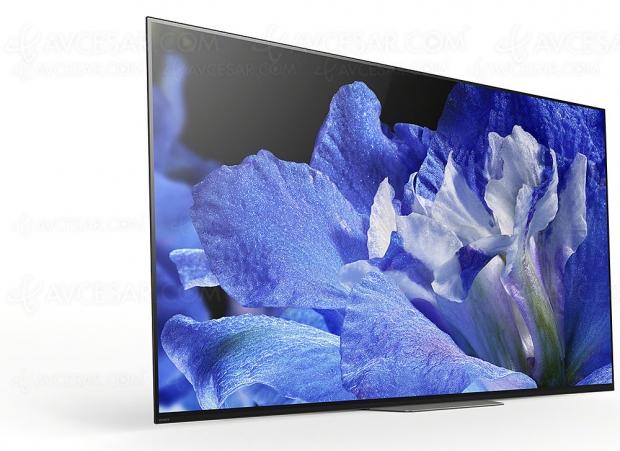 TV Oled Ultra HD Sony AF8, mise à jour prix indicatifs
