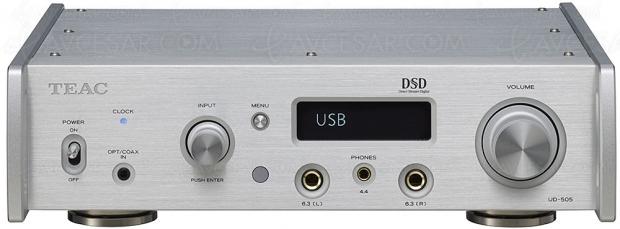 Teac UD‑505, Dac USB 768 kHz/32 bits + ampli casque + XLR + DSD…