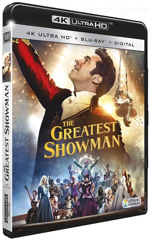 The Greatest Showman en précommande 4K Ultra HD Blu‑Ray