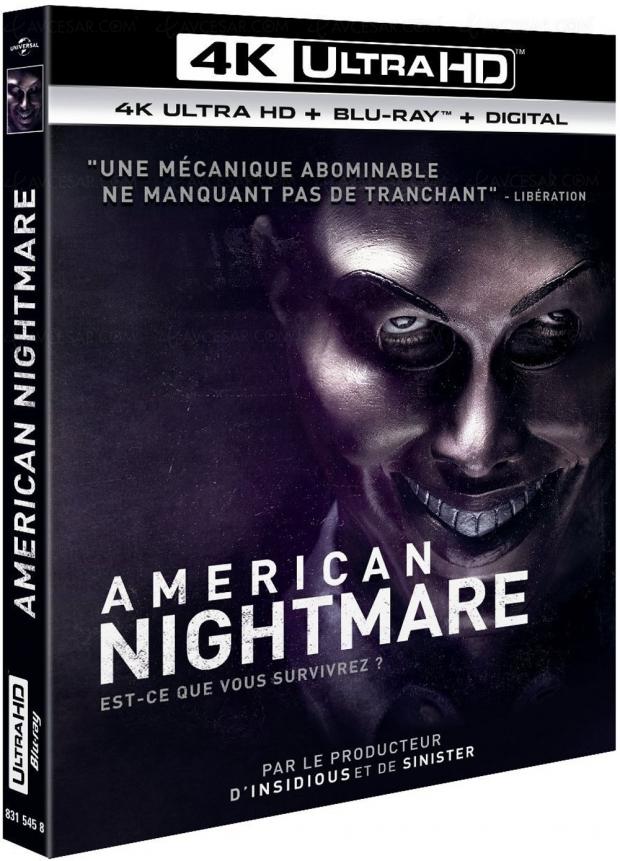 Trilogie American Nightmare en 4K Ultra HD Blu‑Ray en juin