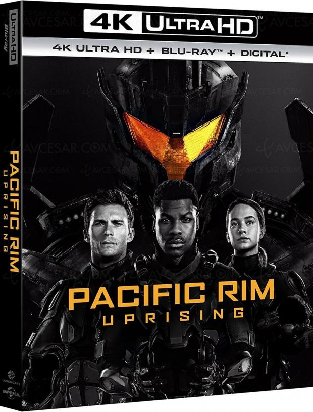 Pacific Rim Uprising, nouveau kaiju eiga en 4K Ultra HD Blu‑Ray