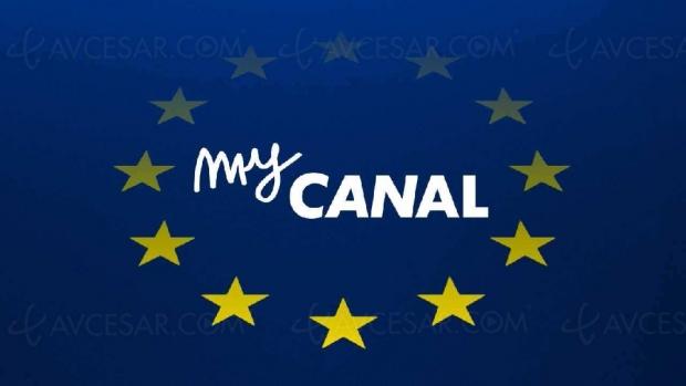 myCanal s'étend en Europe